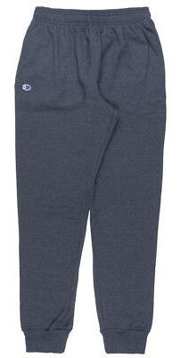 CHAMPION FLEECE SWEATPANTS ATHLETIC JOGGER PANTS MENS HEATHE