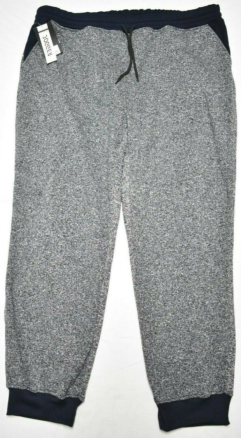Southpole Jogger Pants Fleece Sweatpants Navy Big P356