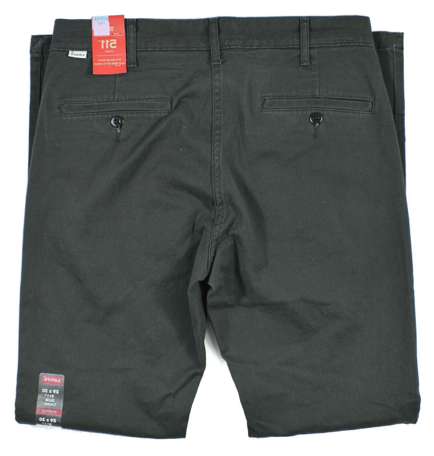 Levi's Gray 2-Way Chino Pants