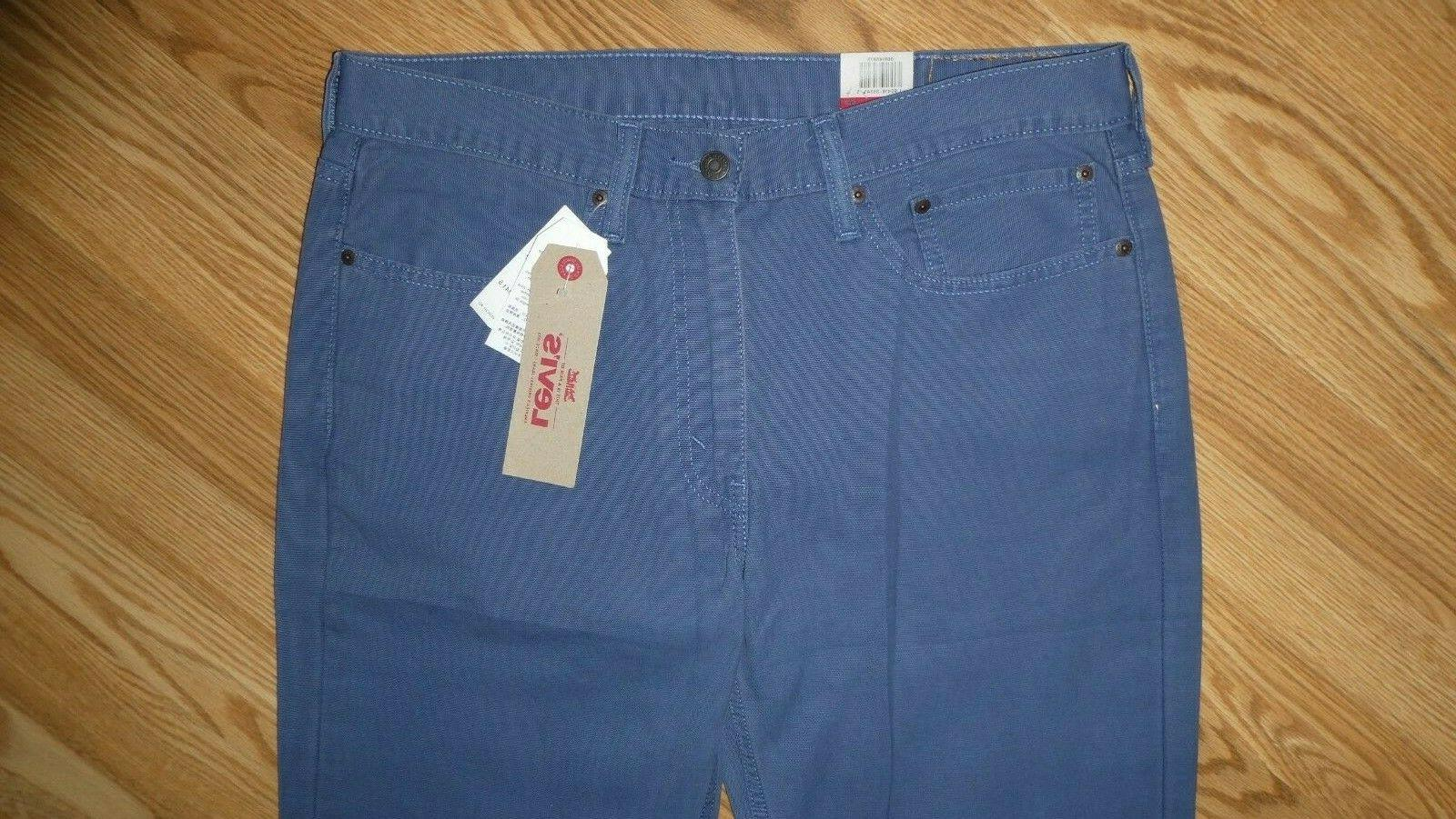 LEVI'S 34 514 FIT STRAIGHT ~ blue