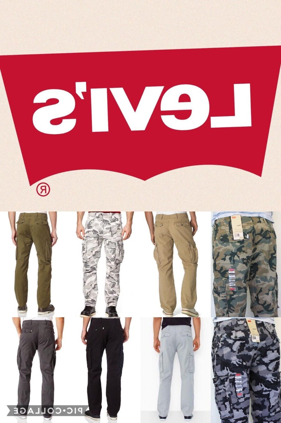 Levi's Men's Relaxed Fit Ace Cargo Pants Many Colors All Siz