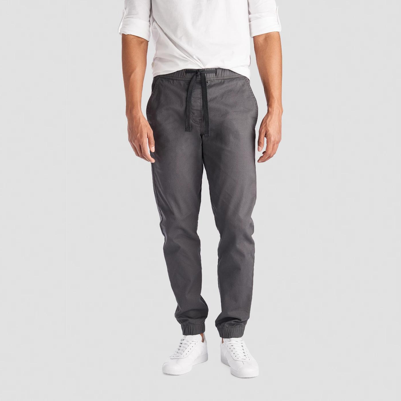 levis denizen men s jogger pants dark