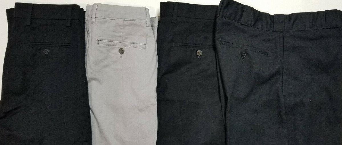LOT PANTS - CHINOS KHAKIS - DICKIES - DOCKERS - SIZE