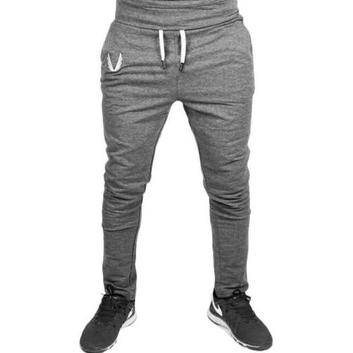 Men Pants Gym Slim Trousers Running Joggers Gym Sweatpants