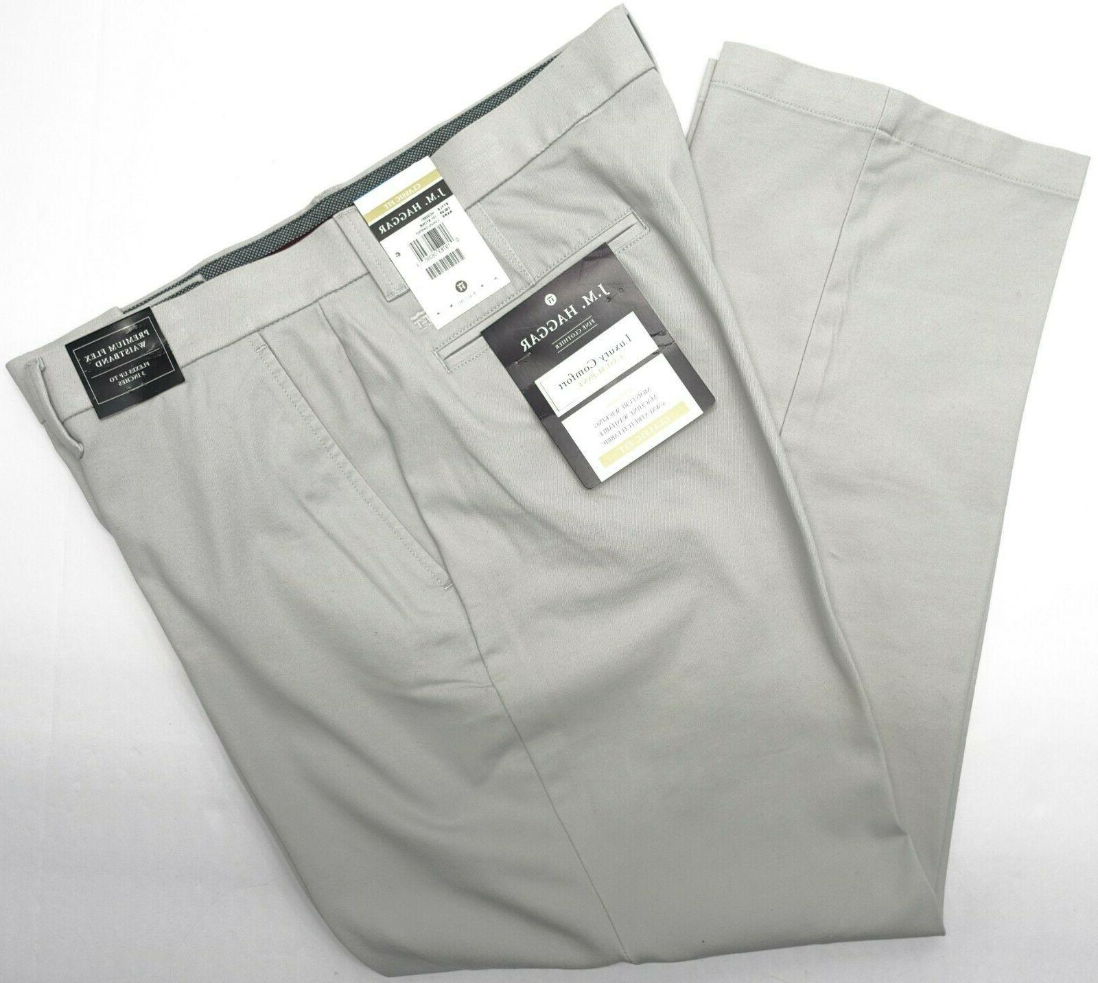 Men Comfort Pants Waist Way Stretch