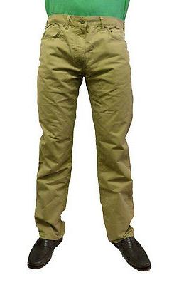 Dockers Men's 5-Pocket Straight Fit Pants 952430001 Khaki