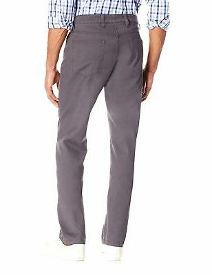 Goodthreads Men's Athletic Fit 5-Pocket Grey 36W
