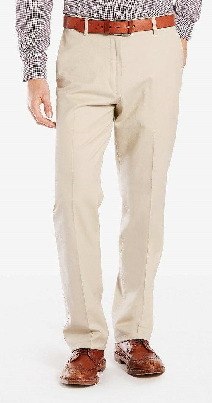Men's Dockers Signature Khaki Flat Front Cotton