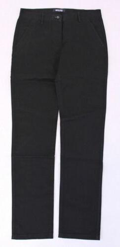 Inflation Men's Casual Stretch Cotton Tapered Pants CB8 Blac
