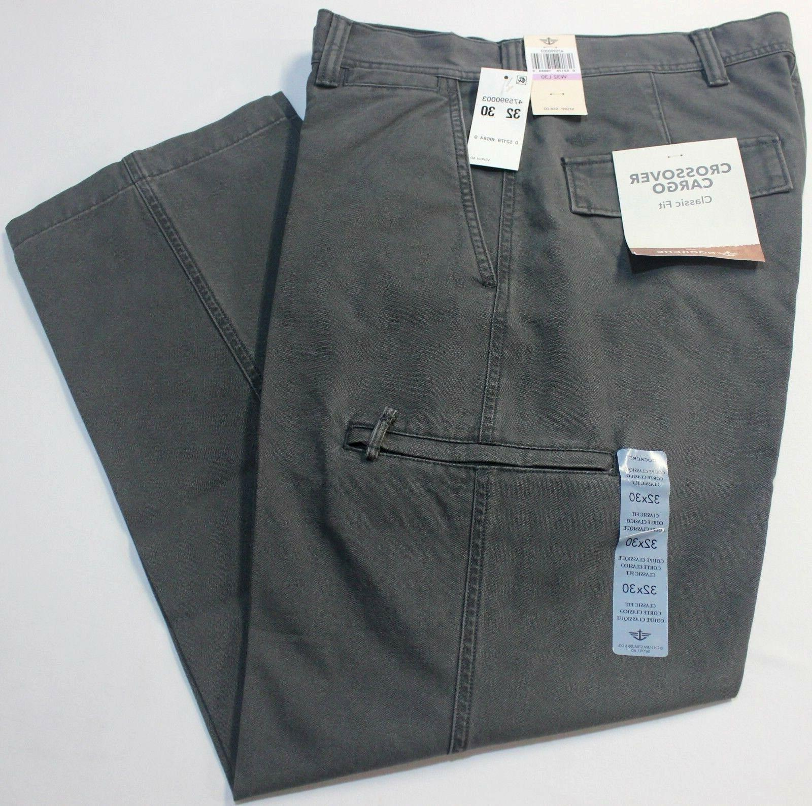 Dockers Classic Forged Flat-Front Cargo Pants