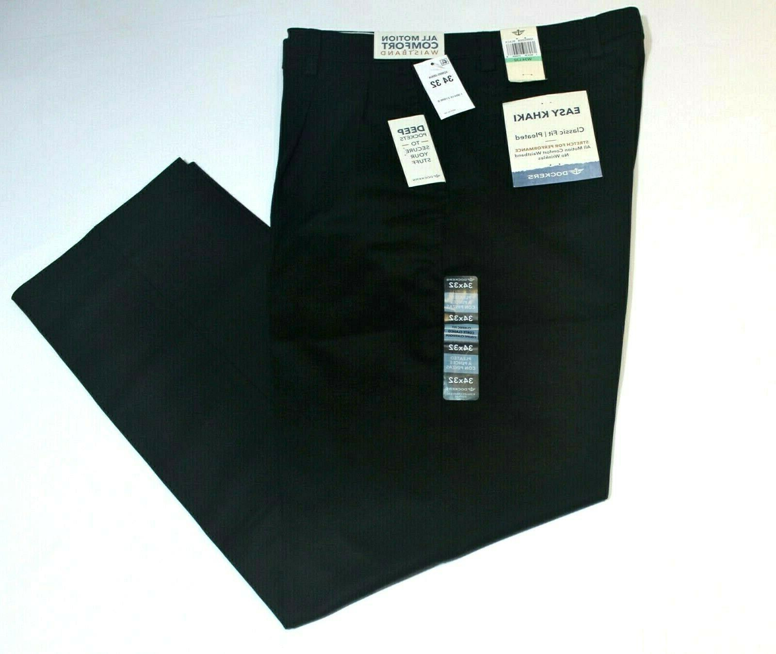 Men's Pleated Waistband Fit Cotton