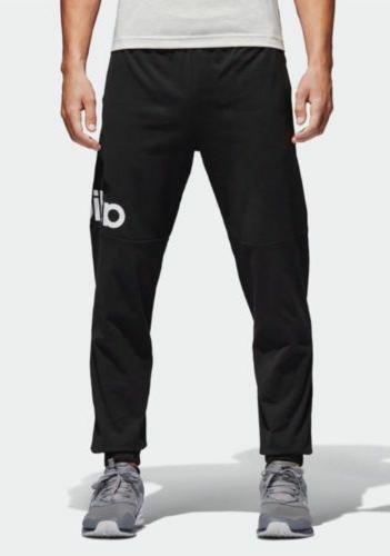 Adidas Essentials Performance Logo Pants Black/White Large