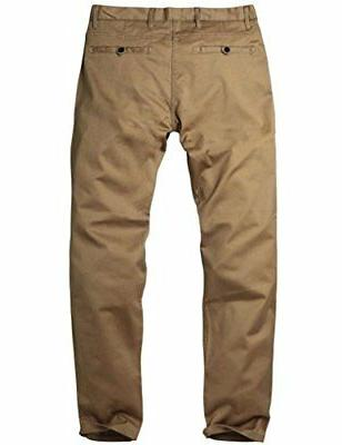 Match Men's Fit Tapered Stretchy Pants 32W x 31L 8106