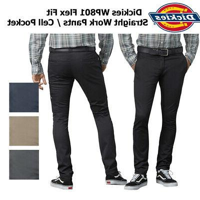 men s flex skinny straight fit work