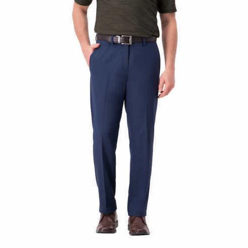 Haggar Men's In Motion Performance Straight Fit Stretch Pant