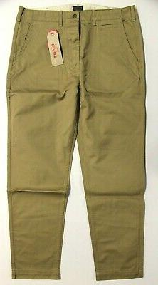 Men's Levi's True Chino Tapered Leg Pants Harvest Gold