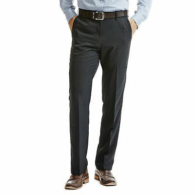 men s performance microfiber flat front pant