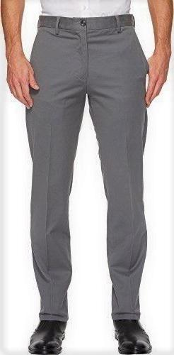 Men's Dockers Signature Khaki Slim-Fit Flat-Front Pants, Gre