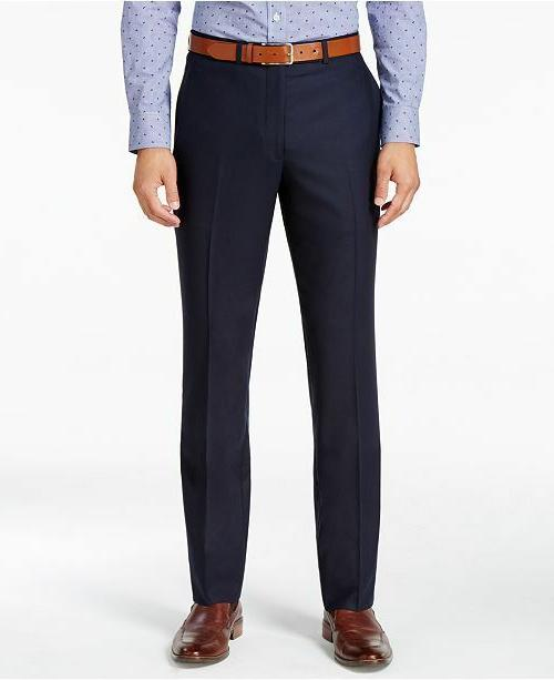 men s slim fit pant navy shadow