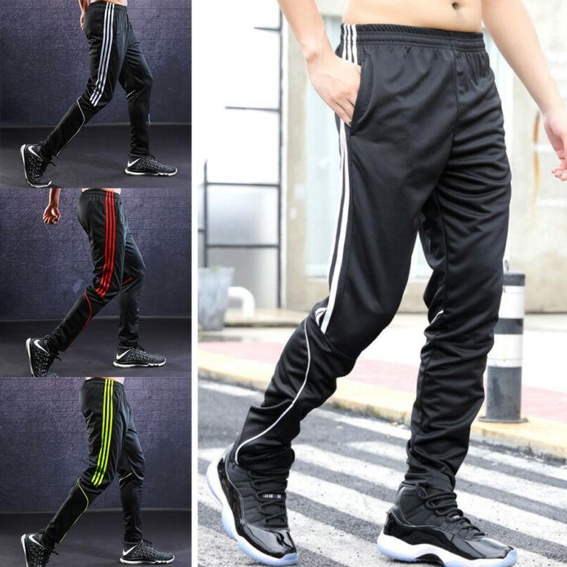 men s sports pants fitness gym trousers