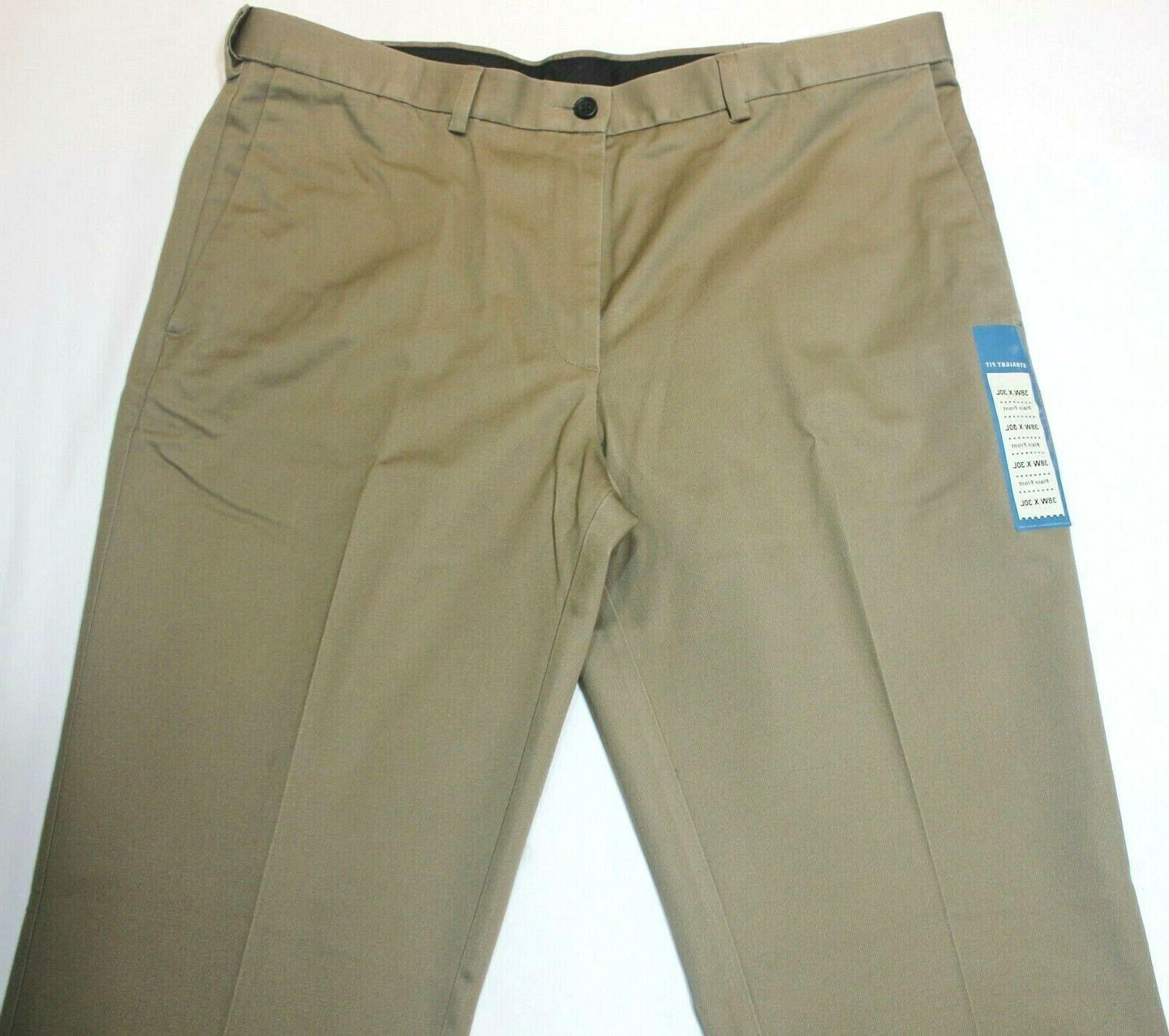 Men's Haggar No Iron Front Taupe Pants