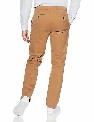 Goodthreads Men's Straight-Fit Washed Chino 34W x