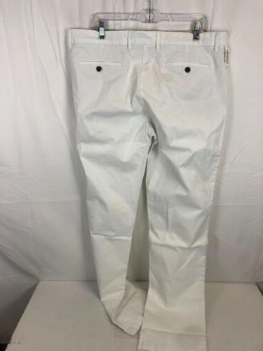 Goodthreads Straight-Fit Washed Comfort White, 38Wx36L