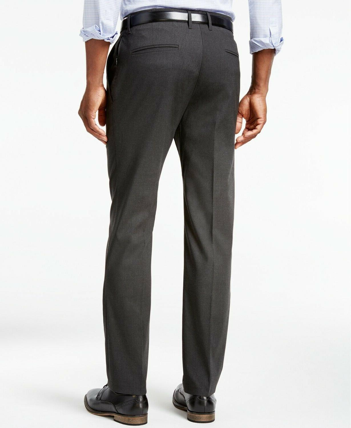 Kenneth Men's Stretch Charcoal, 32x30