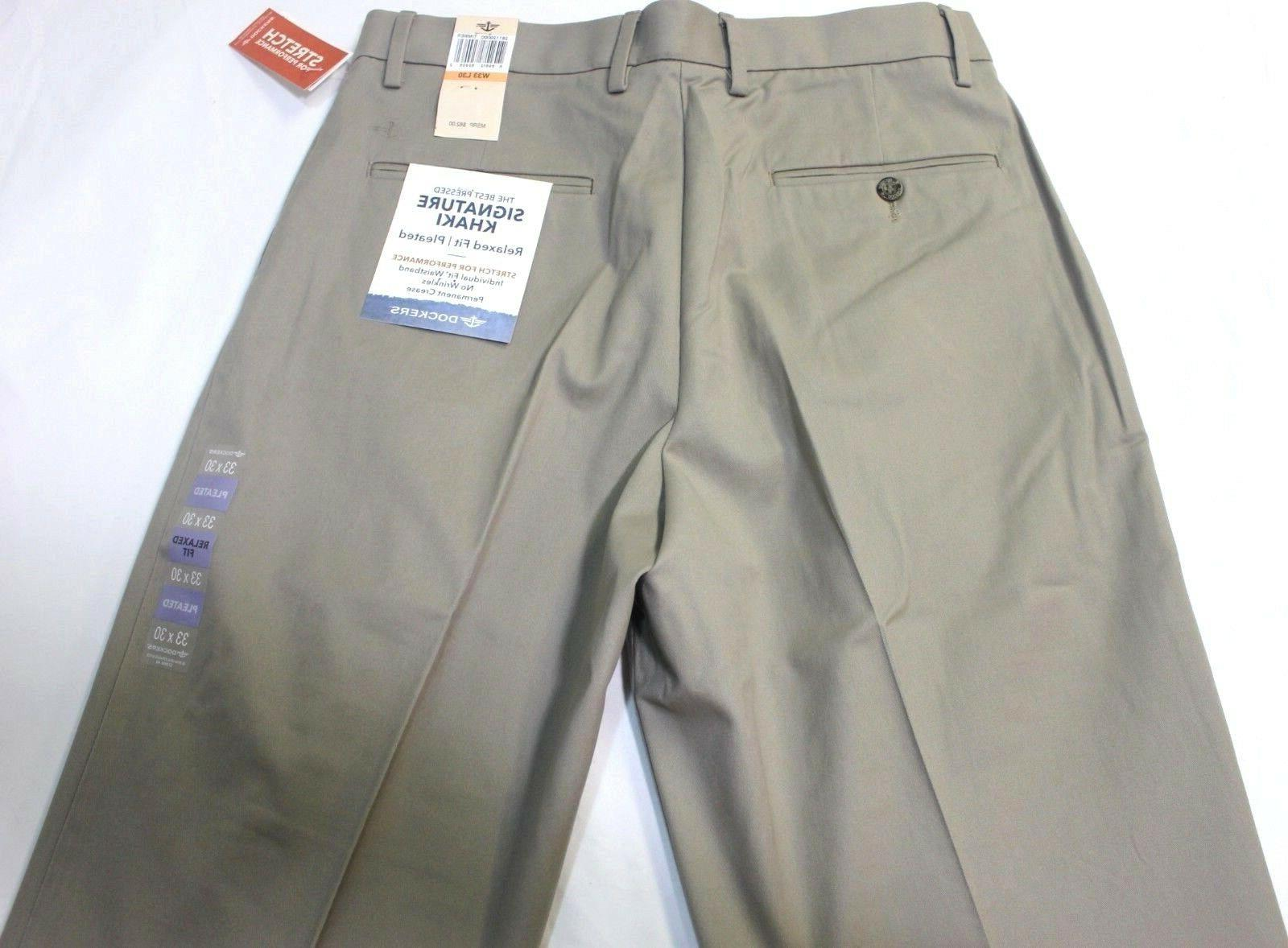 Men Relaxed Stretch Pants 98% Cotton