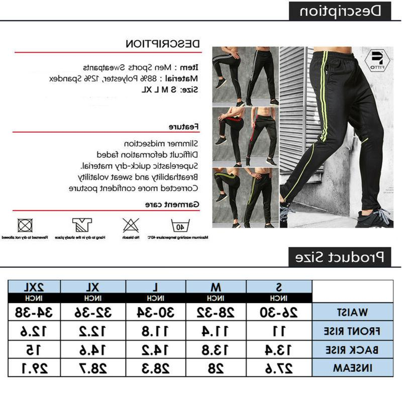 Men's Sports Pants Gym Tracksuit Workout Joggers G3