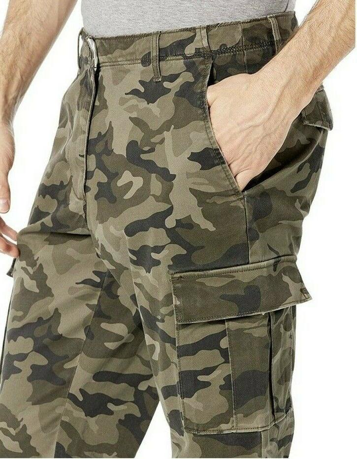 Goodthreads Mens Fit Camouflage Cargo 34