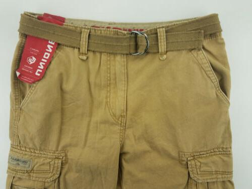 UNIONBAY Cargo Pants 34x32 Belted Pockets
