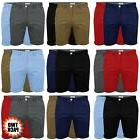 Mens Chino Shorts Stallion Double Pack Cotton Casual Jeans H