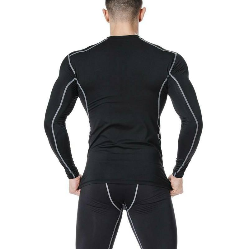 Mens Compression Thermal Layer Pants Dry