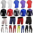 Mens Compression Base Layer Thermal Skin Fitness T-Shirt Top