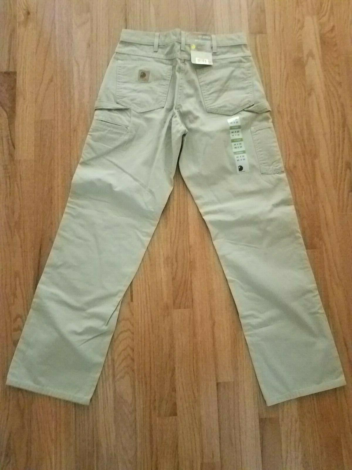 CARHARTT Mens Carpenter Pants 32x34 Fit GKH BRAND NEW