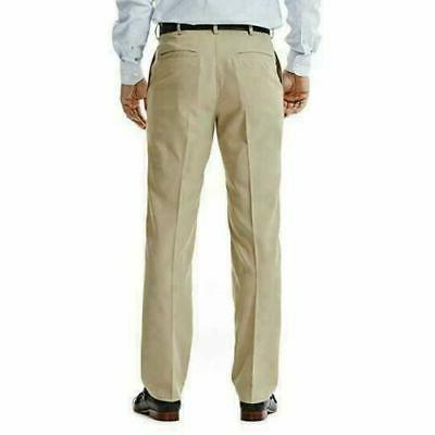 Haggar In Performance Straight Fit Stretch Pants Color