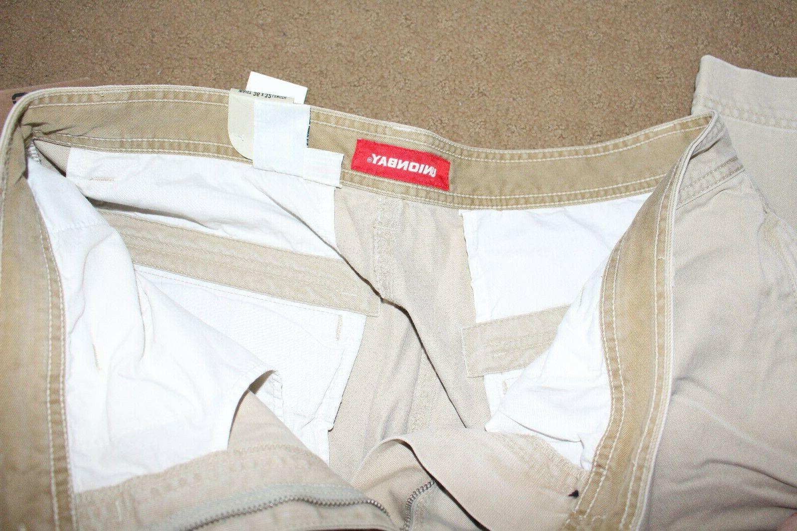Mens Cargo Pants Size With