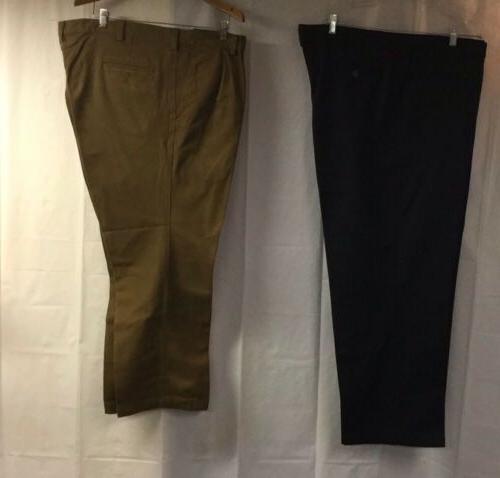 MENS PANTS DOCKERS AND LEE LOT  PAIRS BIG AND TALL SIZE 44 X