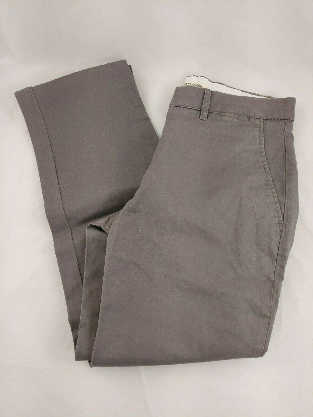 Goodthreads Pants Comfort Stretch Gray Sz 28L