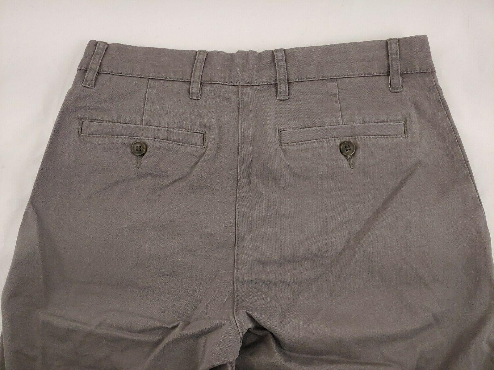 Goodthreads Pants Washed Gray Sz 28W