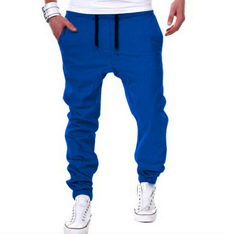 Mens Pants Trousers Tracksuit Gym Fitness Workout