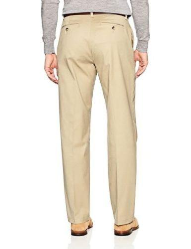 Lee Mens Sportswear Total Freedom Stretch Flat Front Pant