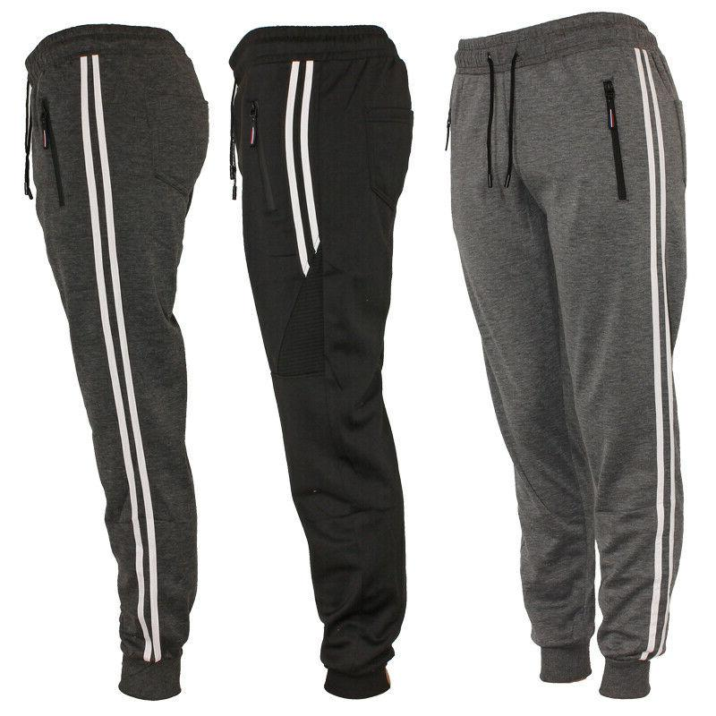 mens track jogger draw string sweat pants