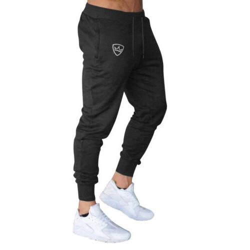 Men's Trousers Tracksuit Workout Joggers Gym