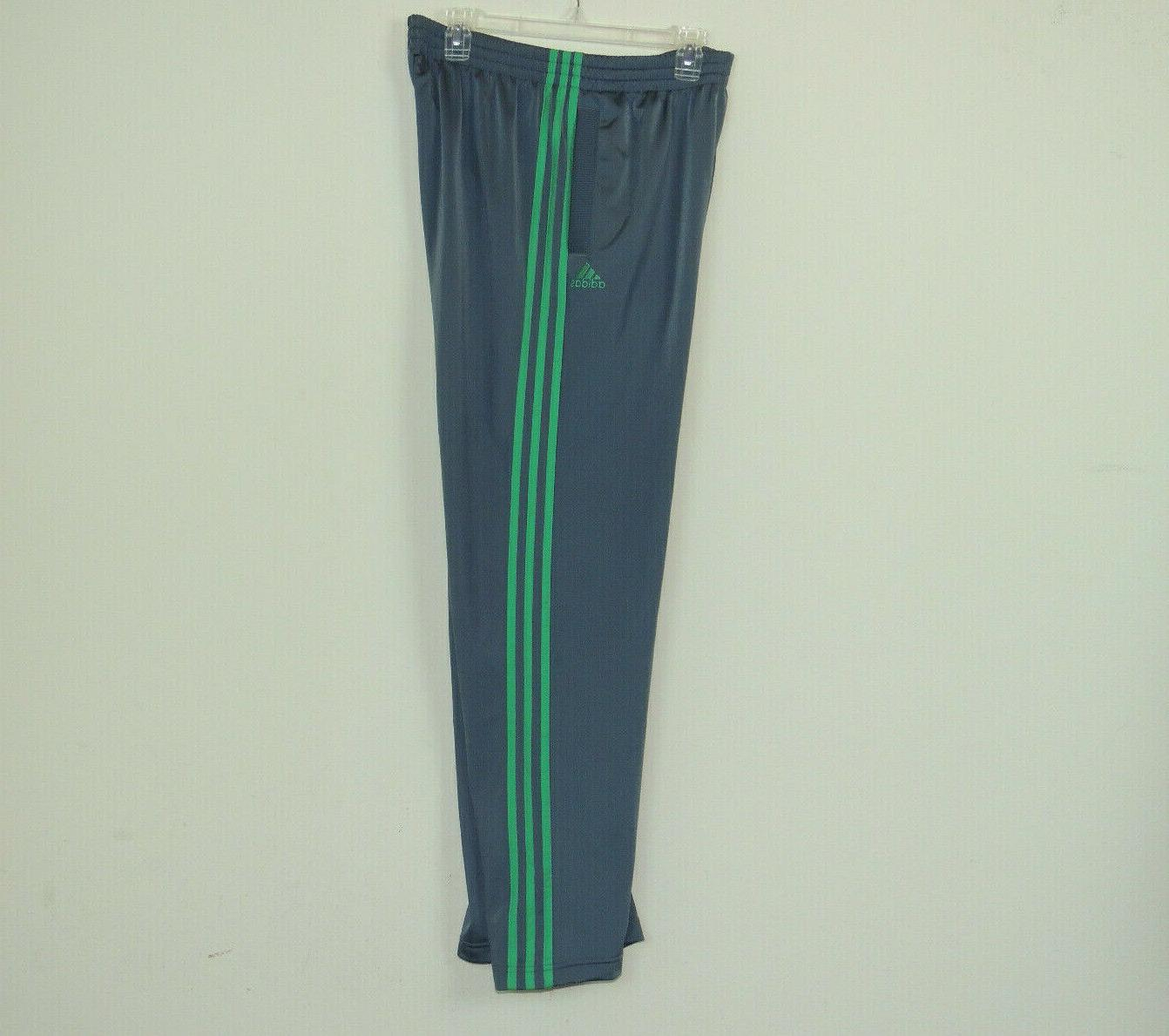 New Adidas Men's Basketball Gym VC Tracksuit Grey Green SZ 2XL