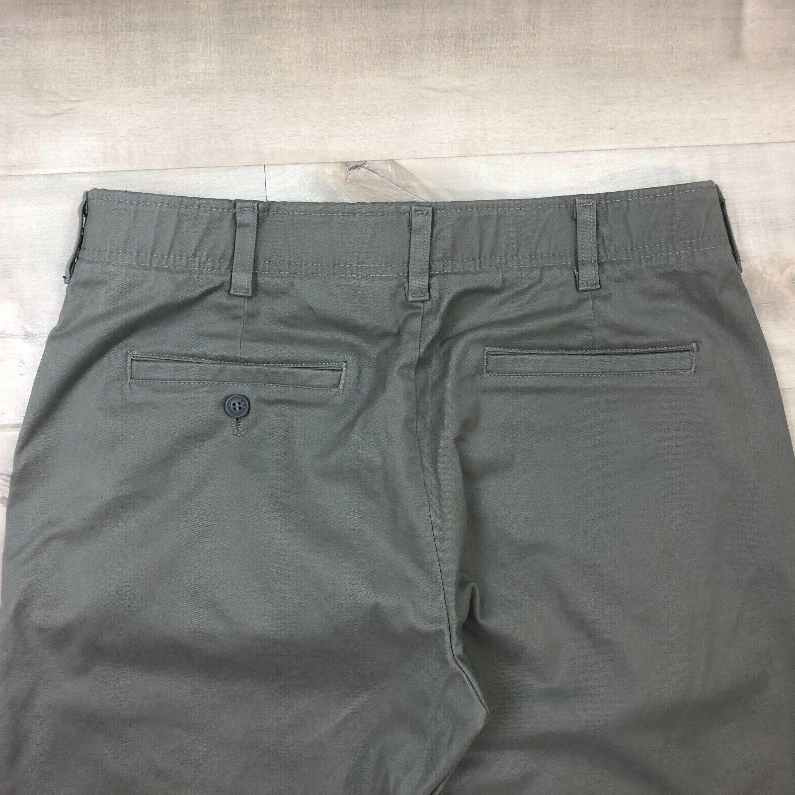 New LEE Men Performance Series Straight Gray