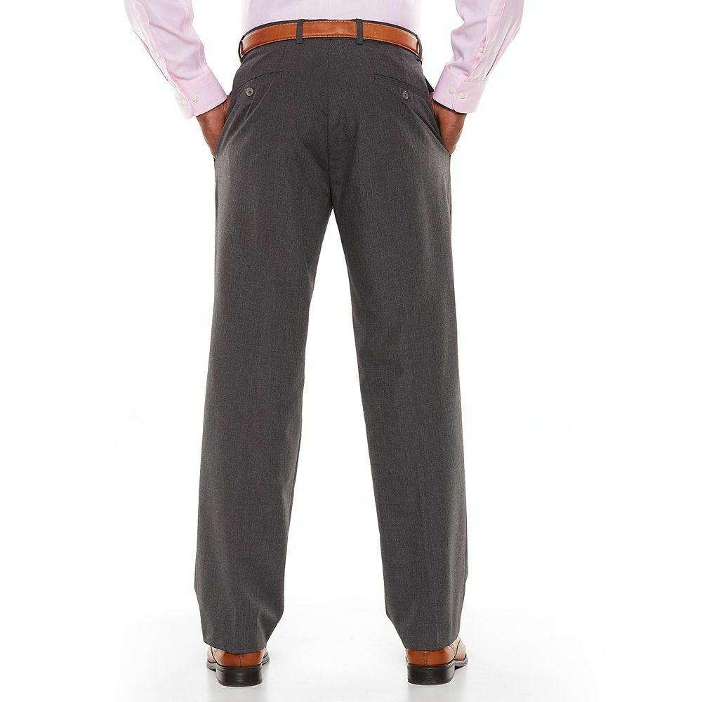 New Men's Originals Straight-Fit Flat-Front Pants MSRP