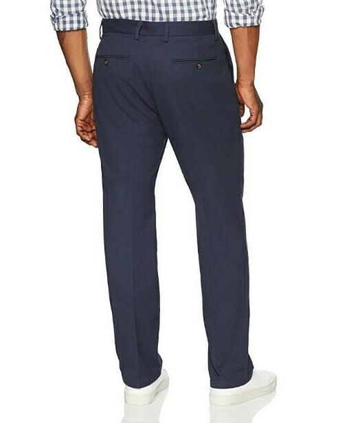 Classic-Fit Flat-Front Pant; 33x30;