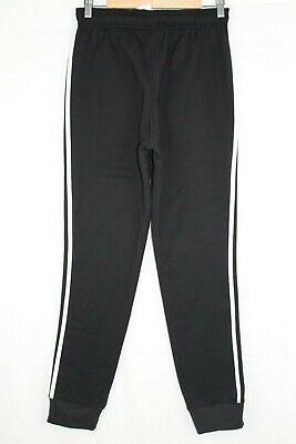 New Men's 3-Stripes Jogger Pants XL Black/White CV6800